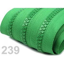 Zips kosticový 5mm metráž Classic Green 10m Stoklasa