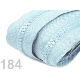 Zips kosticový 5mm metráž Cloud Blue 10m Stoklasa