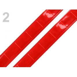 Páska reflexná šírka 25mm červená 10m Stoklasa