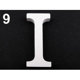 Drevená dekorácia písmená abecedy biela 1ks Stoklasa