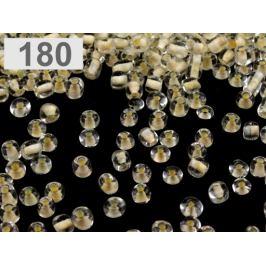 Rokajl sklenený S FAREBNÝM PRIEŤAHOM 4mm krémová najsvetl 50g Stoklasa
