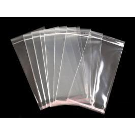 Celofánové sáčiky s lepiacou lištou a závesom 15x25,5 cm Transparent 100ks Stoklasa