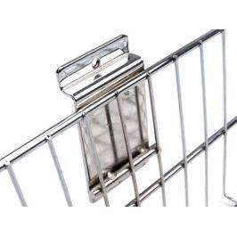 Kovový košík 40x90 cm k zaveseniu na panely strieborná 1ks Stoklasa