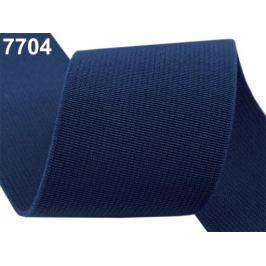Guma hľadká šírka 50mm tkaná farebná ČESKÝ VÝROBOK Estate Blue 25m