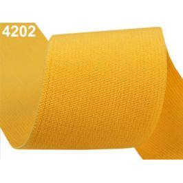 Guma hľadká šírka 50mm tkaná farebná ČESKÝ VÝROBOK Daffodil 25m
