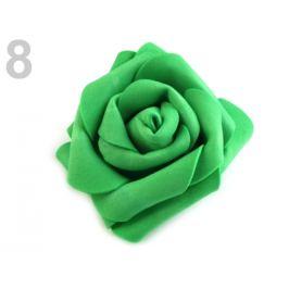 Dekoračná penová ruža Ø6 cm zelená pastelová 10ks Stoklasa