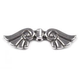 Medzikus kovový 10x35mm krídla platina 1ks Stoklasa