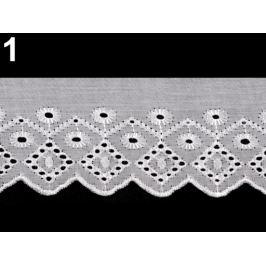 Madeira -  štykovanie šírka 75 mm biela 13.5m Stoklasa