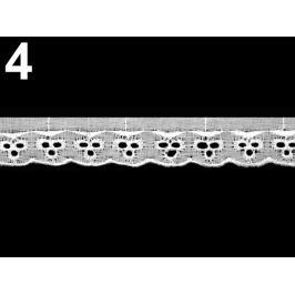 Madeira - štykovanie šírka 25 mm biela 13.5m Stoklasa