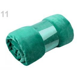 Deka Coral fleece 150x200 cm zelená smaragdová 1ks
