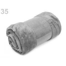 Deka Coral fleece 150x200 cm šedá sv. 1ks