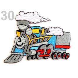 Nažehlovačka auto, traktor, loď šedá holubia 1ks