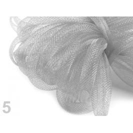 Dekoračná dutinka na aranžovanie Ø8 mm šedá 27m Stoklasa
