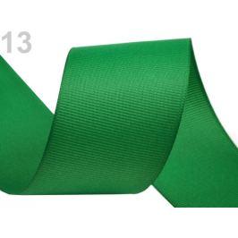 Rypsová stuha šírka 40 mm zelená irská 15m Stoklasa