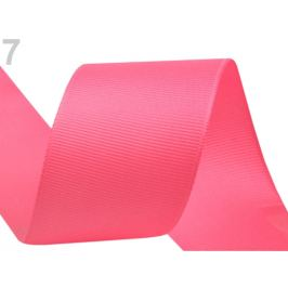 Rypsová stuha šírka 40 mm ružová 15m Stoklasa