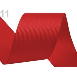 Rypsová stuha šírka 40 mm červená 15m Stoklasa