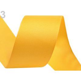 Rypsová stuha šírka 40 mm žĺtková 15m Stoklasa