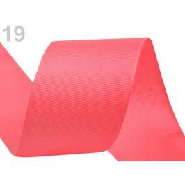 Rypsová stuha šírka 40 mm korálová sv. 15m Stoklasa