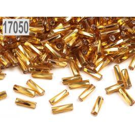 Rokajl Preciosa točené tyčky 6mm zlatá 20g
