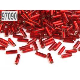 Rokajl Preciosa točené tyčky 6mm červená  20g