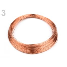 Drôt Ø0,18 mm medená 1ks