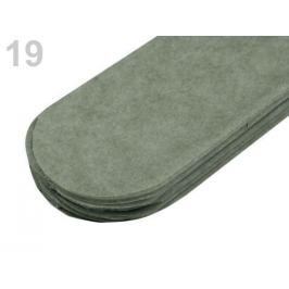Papierový pompom Ø15 cm šedá sv 1ks Stoklasa