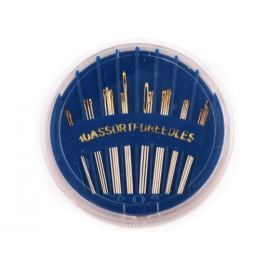 Ihly kompakt Sharps nadružené modrá safírová 5ks Stoklasa