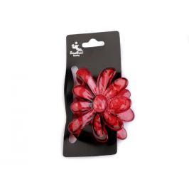 Štipec do vlasov 5x6,5 cm kvet oranžová   1ks Stoklasa