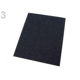 Nažehlovacie záplaty riflové 17x43 cm antracitová 1ks Stoklasa