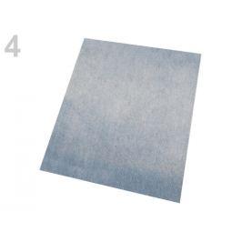 Nažehlovacie záplaty riflové 17x43 cm šedá holubia sv. 1ks Stoklasa