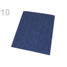Nažehlovacie záplaty riflové 17x43 cm modrá tm. 1ks Stoklasa