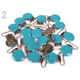 Trakový záves šírka 25 mm lakovaný modrá tyrkys. 2ks Stoklasa