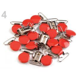Trakový záves šírka 25 mm lakovaný červená 2ks Stoklasa