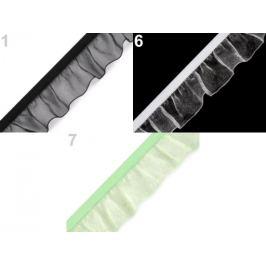 Guma s volánikom šírka 25 mm zelená sv. 22.5m Stoklasa