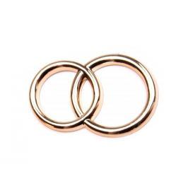 Dekoračné prstene zlatá svetlá 10ks Stoklasa