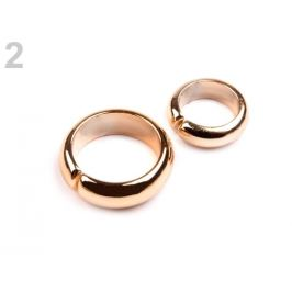 Dekoračné svadobné prstene zlatá svetlá 20pár Stoklasa