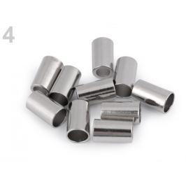Kovová koncovka Ø3,5 mm,Ø5,5 mm nikel 4ks Stoklasa