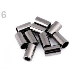 Kovová koncovka Ø3,5 mm,Ø5,5 mm nikel antik 4ks Stoklasa