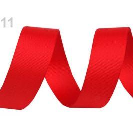 Rypsová stuha šírka 15 mm návin 5 m červená 5m Stoklasa