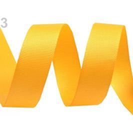 Rypsová stuha šírka 15 mm návin 5 m žltá   5m Stoklasa