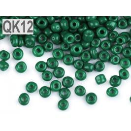 Rokajl 8/0 - 3 mm metalický, nepriehľadný zelená malachitová 50g Stoklasa