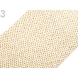 Sieťovaná guma šírka 24-25 cm tutu krémová najsvetl 1m Stoklasa