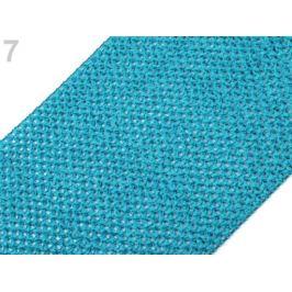 Sieťovaná guma šírka 24-25 cm tutu modrá tyrkys. 1m Stoklasa