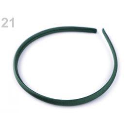 Saténová čelenka do vlasov zelená malachitová 1ks Stoklasa