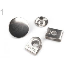 Riflový gombík s háčikom veľkosť 28