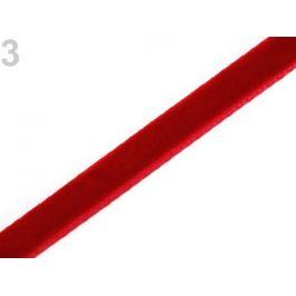 Zamatová stuha šírka  6 mm červená 9m Stoklasa