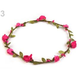 Venček ruže Ø18 cm 2. akosť malinová 1ks Stoklasa