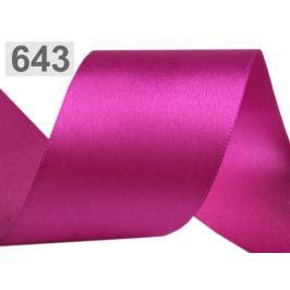 Atlasová stuha obojlíca šírka 50 mm pink 20m