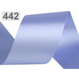 Atlasová stuha obojlíca šírka 50 mm modrá sv. 20m