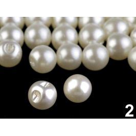Perla k našitiu / gombík Ø9 mm perleťová 20ks Stoklasa